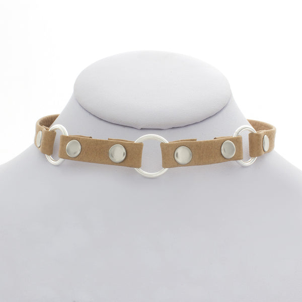Medium Three Ring Choker