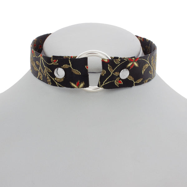 Blossoming Brocade O Choker