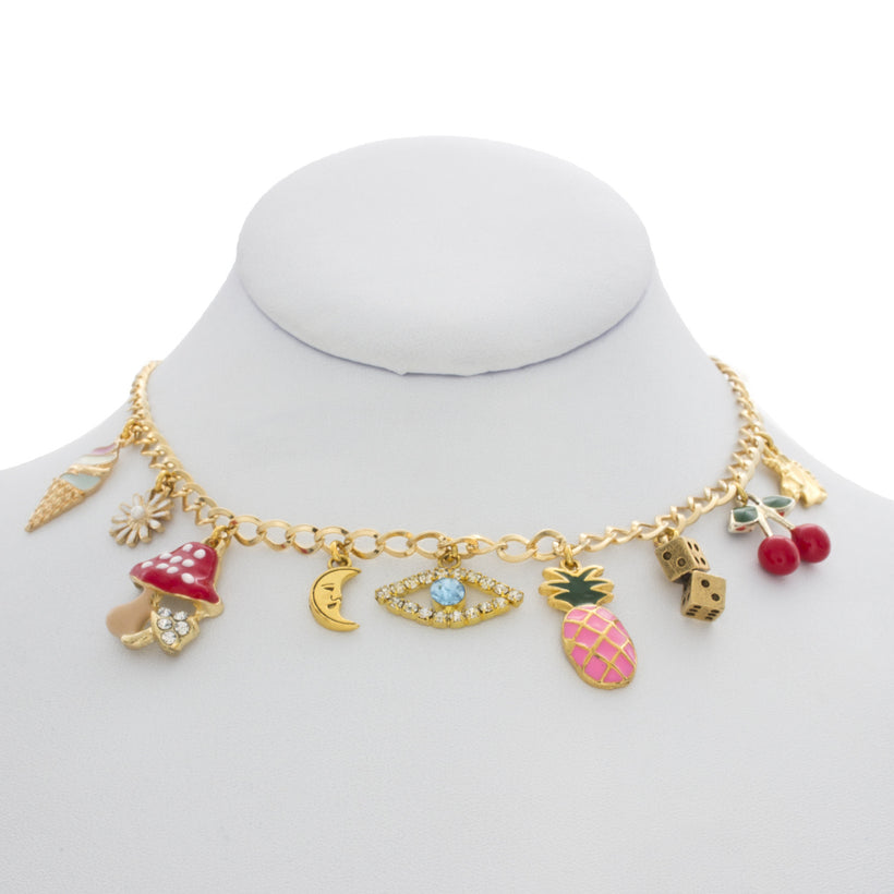Mixed Charms Necklace