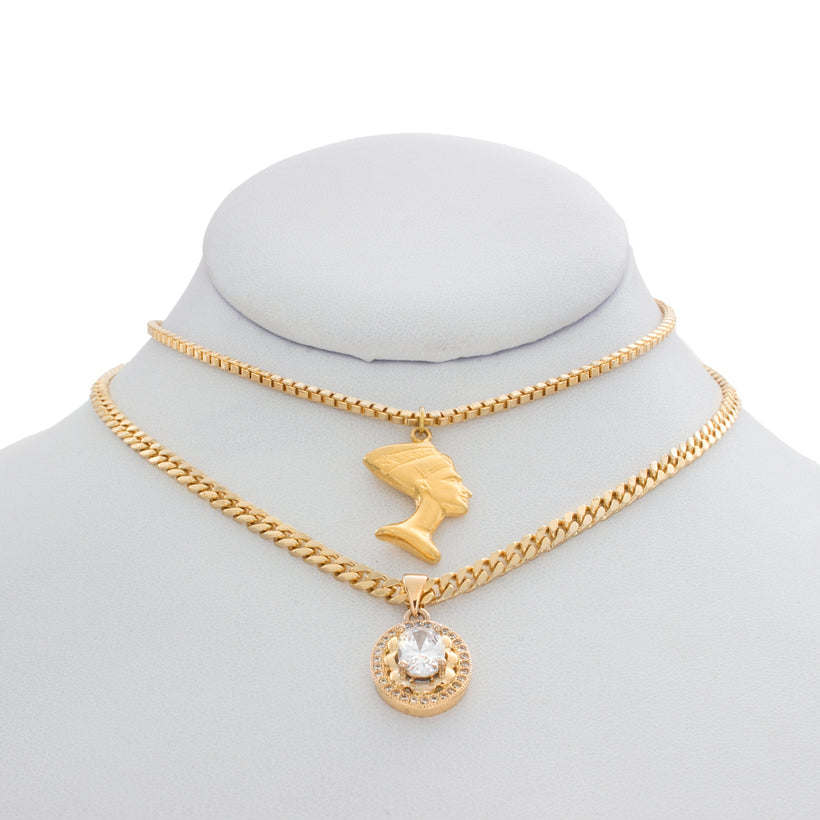 Nefertiti's Treasure Necklace