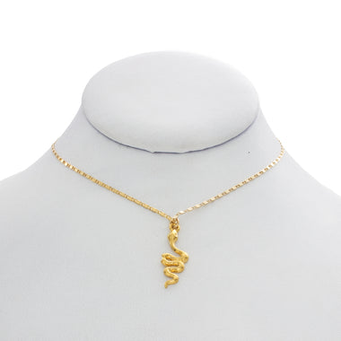 Snake on a Chain Necklace