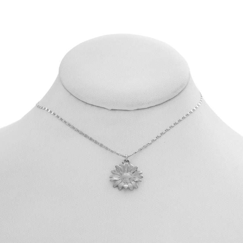Mini Daisy Charm Necklace