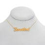 Sensitive Nameplate Necklace