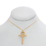 Shining Ankh Necklace