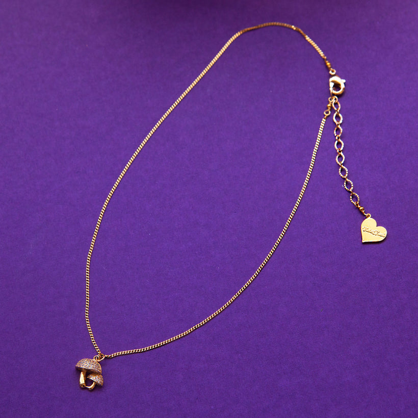 Mushroom Charm Chain Necklace