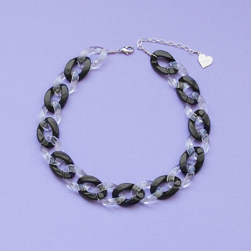 Oreo Cookie Clear Choker