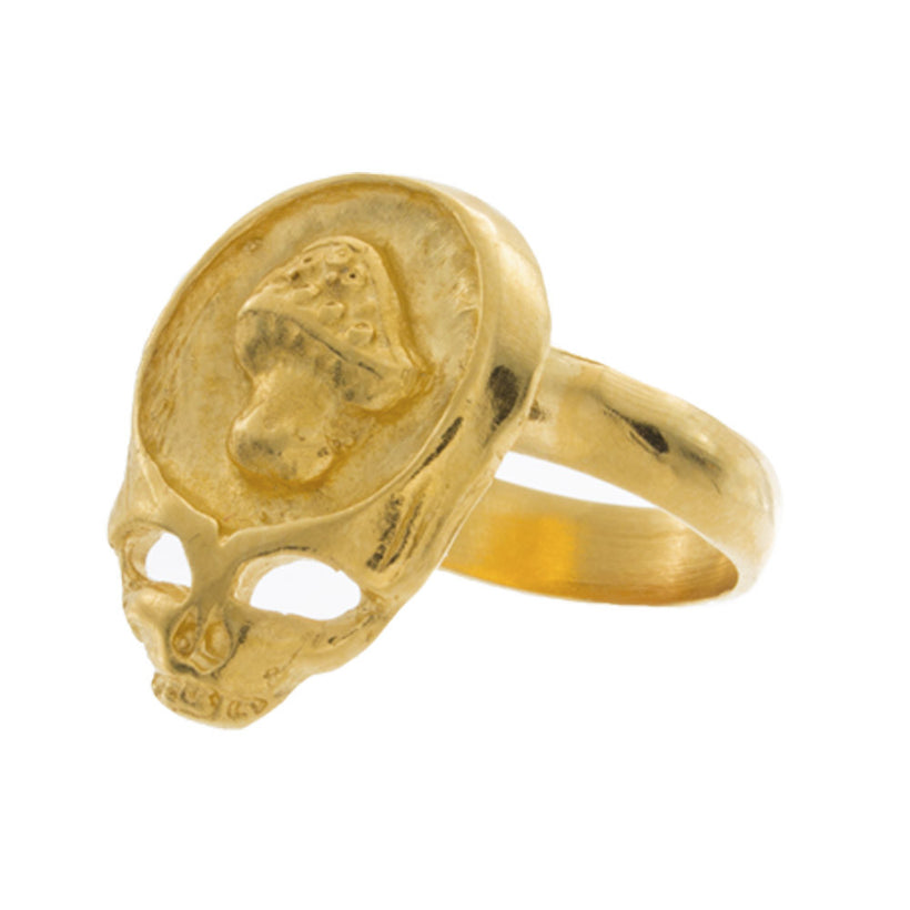 Grateful Dead Mushroom Ring