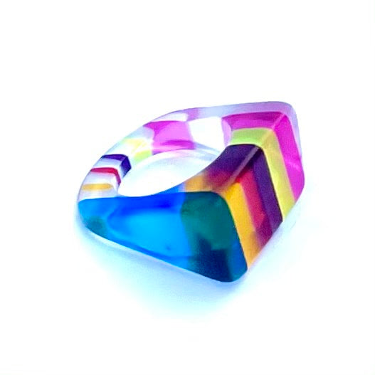 Tropical Skittles Ring
