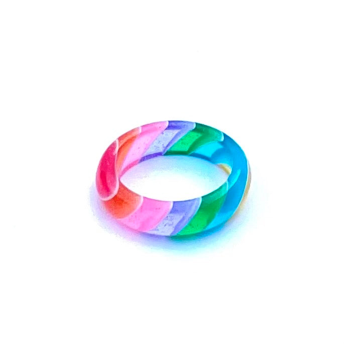Rainbow Sherbert Ring