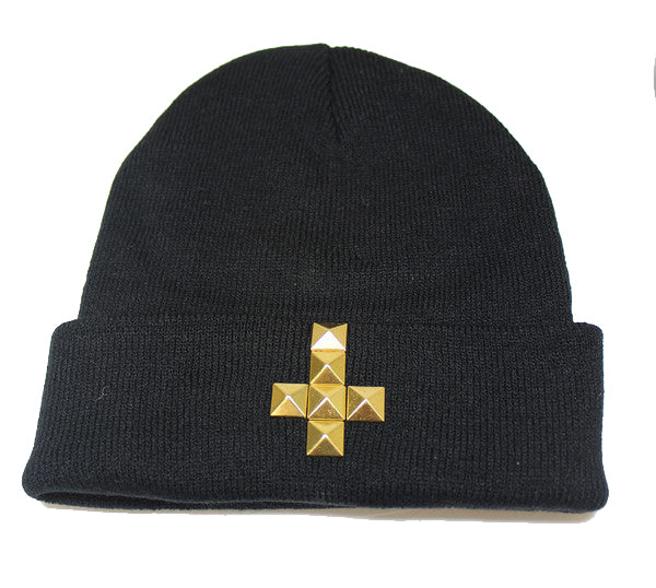 Upside Down Cross Beanie