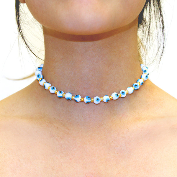 Evil Eye Ball Choker