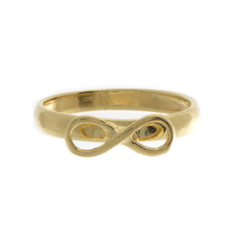 Plain Infinity Knuckle Ring