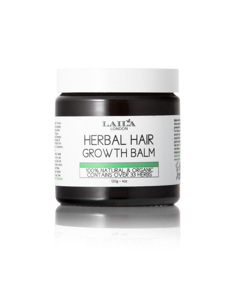 Hair Growth Herbal Organic Balm 100% Natural Promotes Growth