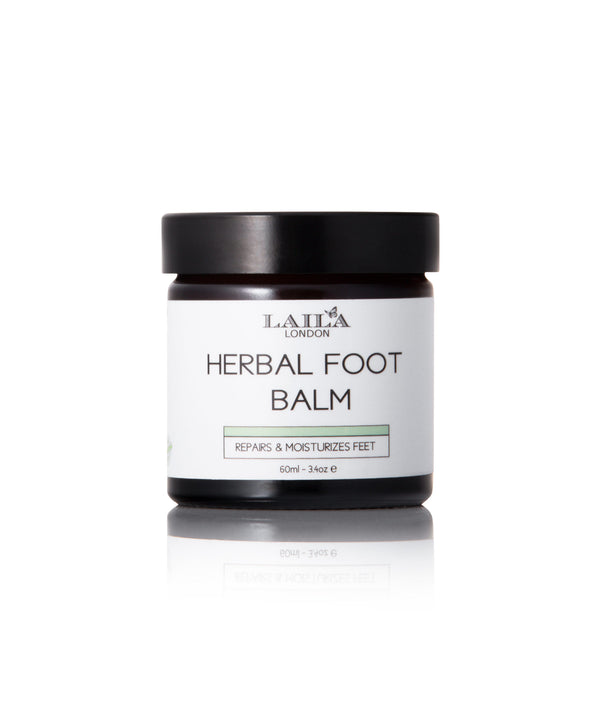 Herbal Foot Balm  Dry, Rough, Hard Skin, Brittle Nails, Cracked Heels, Corns, Calluses