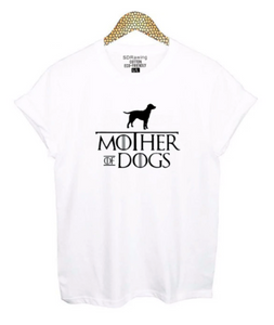 Mother of Dogs Tee