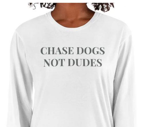 Chase Dogs Long Sleeve Tee