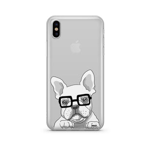 The Frenchie - Clear Case Cover