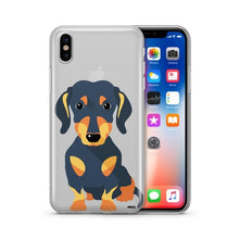 Load image into Gallery viewer, Doxie - Clear Case Cover