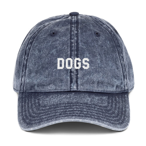Dogs University Vintage Dad Hat