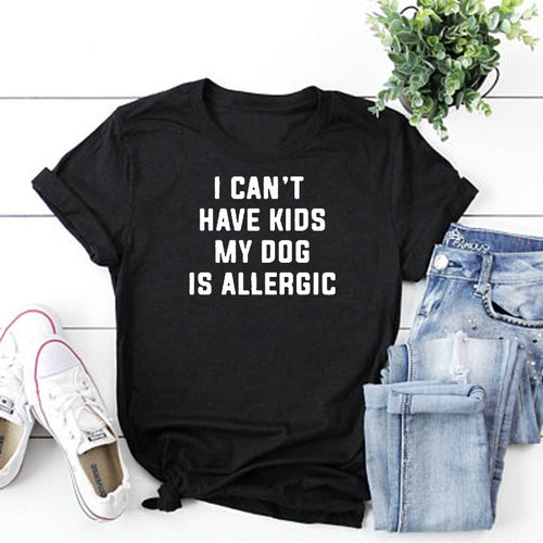 Dogs Over Kids Tee