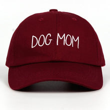 Load image into Gallery viewer, Dog Mom Embroidered Hat