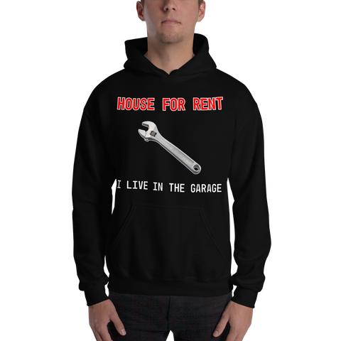 I Live In The Garage Hoodie