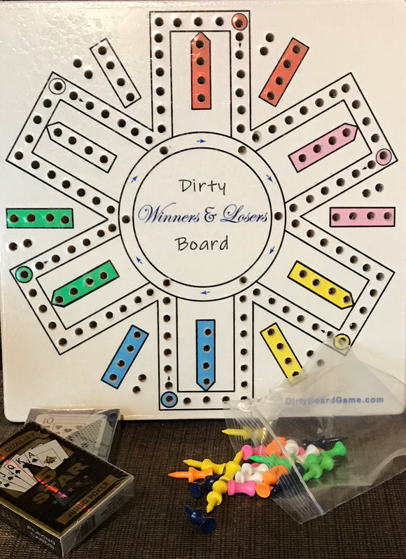 6 player Dirty Board game
