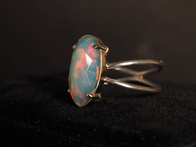 14k Gold Welo Opal Ring - kaiasparksdesigns