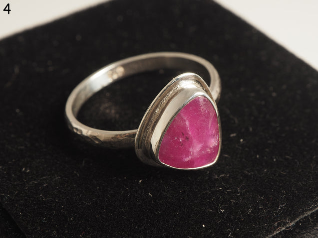 size 7.5 Raw Ruby Ring - kaiasparksdesigns
