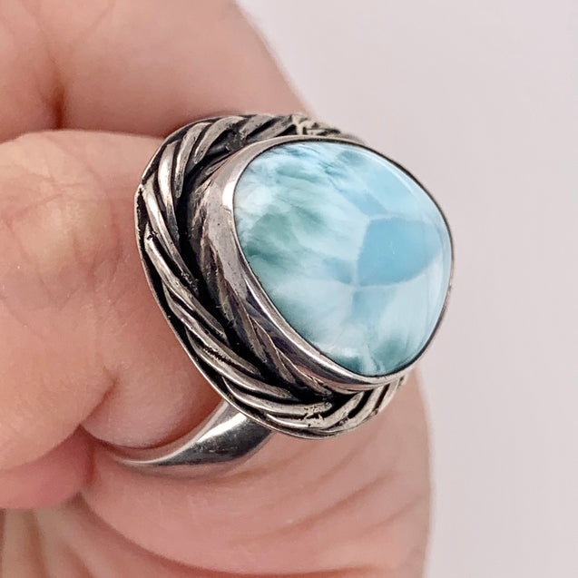 Larimar Ring - kaiasparksdesigns