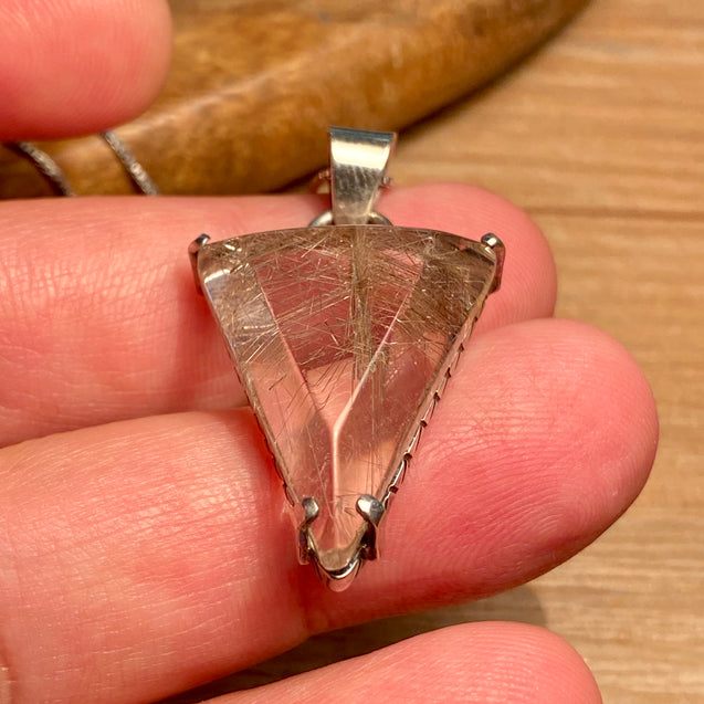 Rutilated Quartz Pendant - kaiasparksdesigns