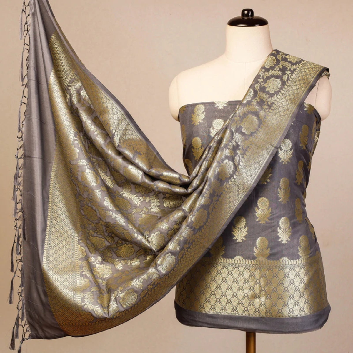 Pure Handwoven Banarasi Dress materials