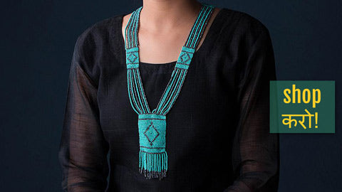 Hapur Beadwork Necklaces & Earrings by Aagaz