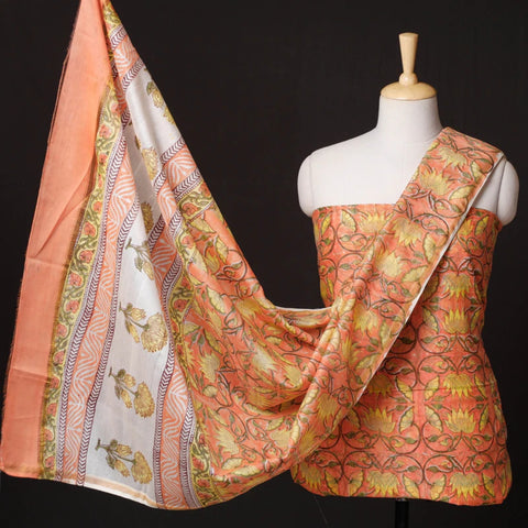 Sanganeri Block Prints Dress Materials of Rajasthan