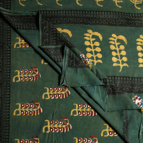 Hand Block Printed Silk & Cotton Sarees