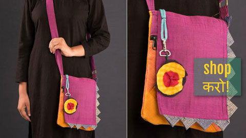 ❁ Handcrafted New Sling & Camera Style Bags by Jugaad ❁
