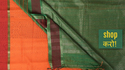 Bengal Handloom Pure Cotton Sarees by Khushbash