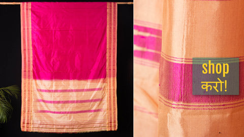 Traditional Narayanpet Handloom Silk & Cotton Sarees