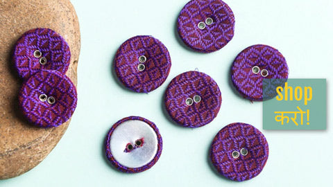 Buttonbaaz Handmade Buttons for Clothing