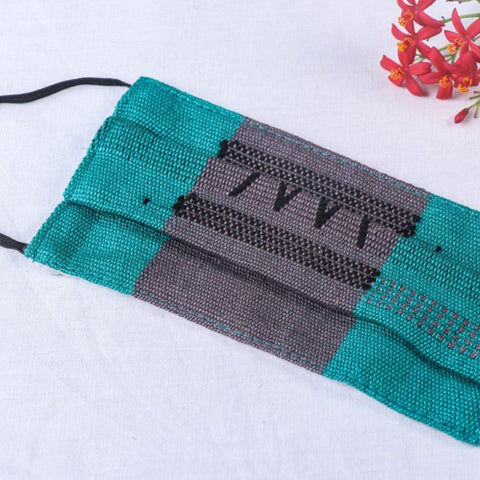 Pure Handwoven Chizami Weave Cotton 2 Layer Face Covers