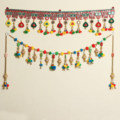 Kutch Hand Embroidered Beadwork Handmade Torans