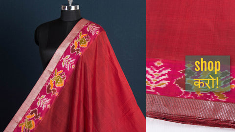 Special Original Mangalgiri Handloom Silk Cotton Fabrics with Zari Border by Lakshman Rao