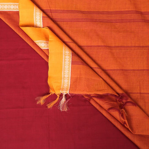 Traditional Chettinad Kandangi & Kanchipuram Pure Cotton Sarees from Tamil Nadu