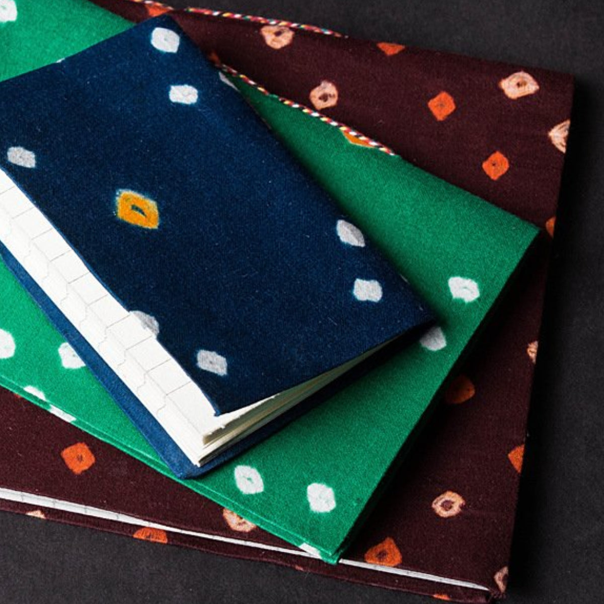 Bandhani Cover Notebooks