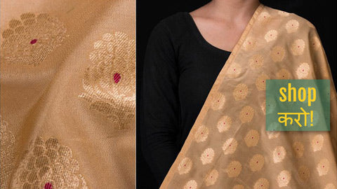Traditional Pure Banarasi Silk & Cotton Fabrics by Maqbul Hasan