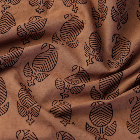 Bagh Block Print Natural Dyed Fabrics of Madhya Pradesh