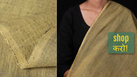 Malkha Cotton Pure Handloom Natural Dyed Fabrics