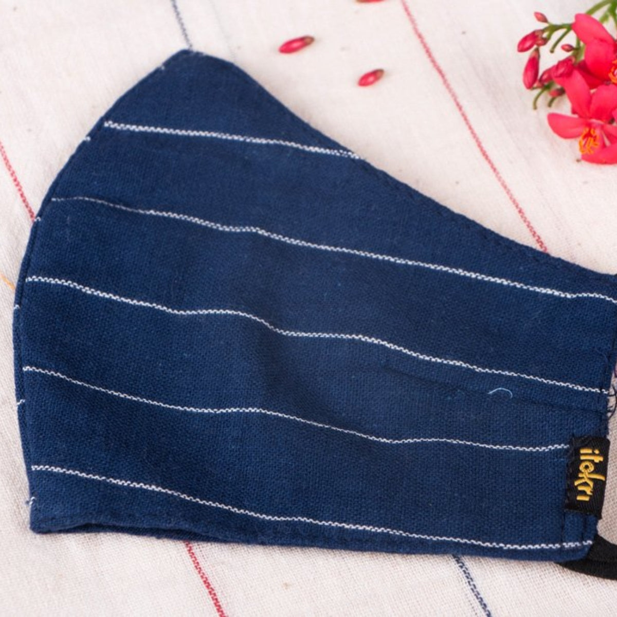 Organic Kala Cotton Pure Handloom Fabric Snug Fit Face Covers