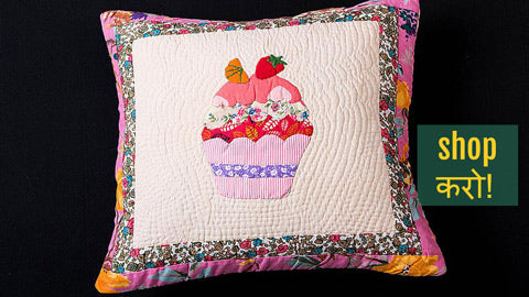 Applique Cushion Covers & Table Runners by Purkal Stree Shakti Samiti, Dehradun
