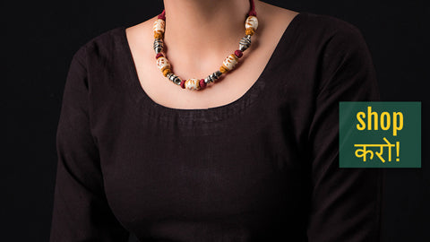 Patwa Threadwork Necklaces by Kailash Patwa